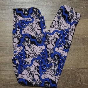 Lularoe Disney Aladdin leggings s/m